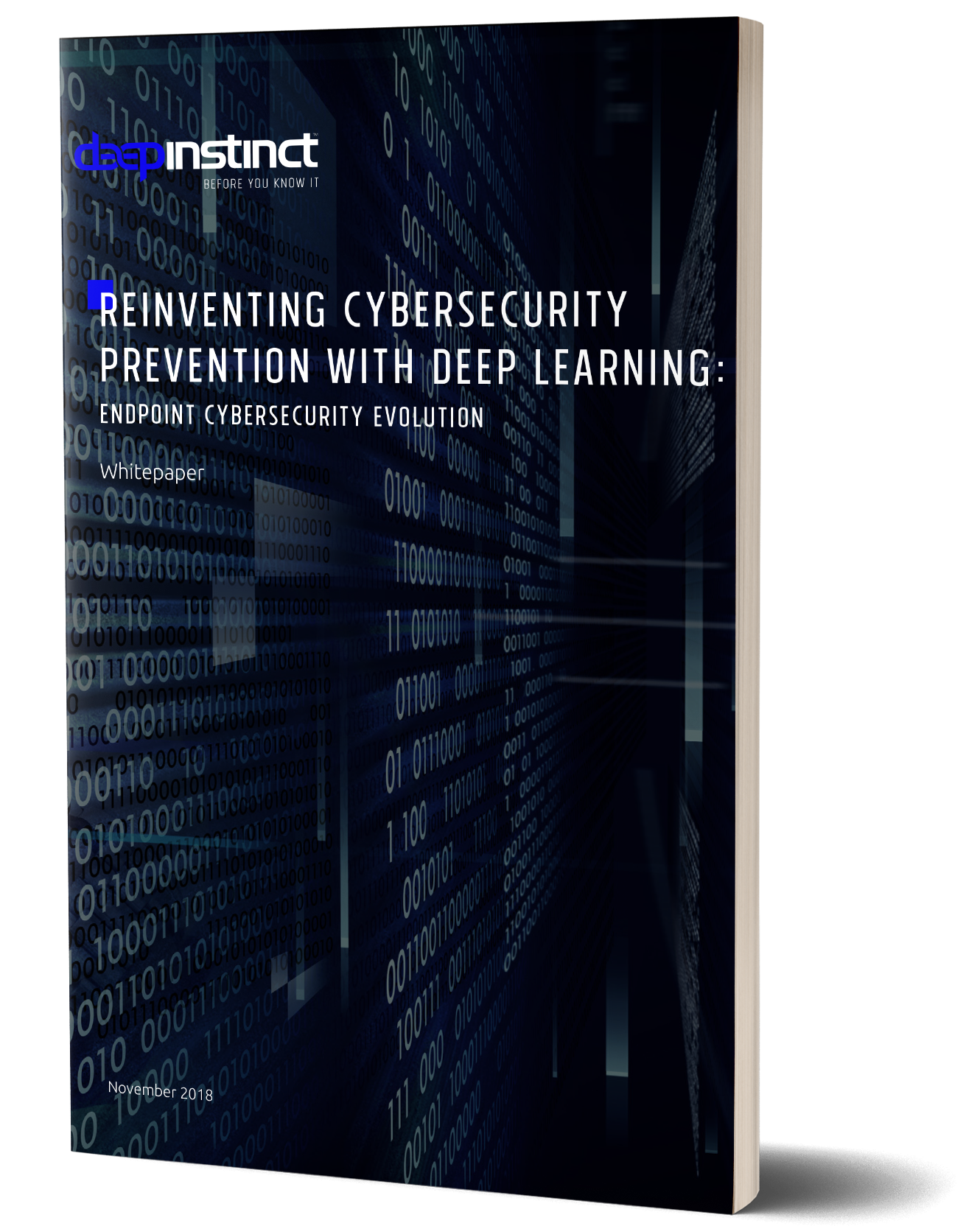 Reinventing Cybersecurity Prevention with Deep Learning book cover