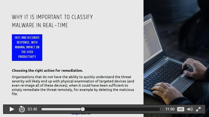 classification webinar